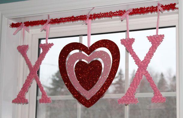 5 Sweet Valentine Decor Ideas Fynes Designs Diy Valentines Decorations Valentines Window Display Valentine Decorations