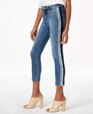 ad4d7a98b Joe's The Icon Crop Tuxedo-Stripe Jeans - Blue 32 | Products in 2019 ...