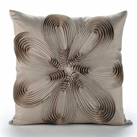 Accent Pillow With 3d Floral Design Fancy Pillows Decorative Pillows Pillows
