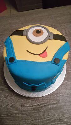 Peggy et ses petits plaisirs gourmands: Gâteau Minion