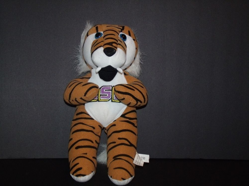 Toy Factory Lsu Tiger Plush Stuffed Animal 14 Toyfactory The Toy