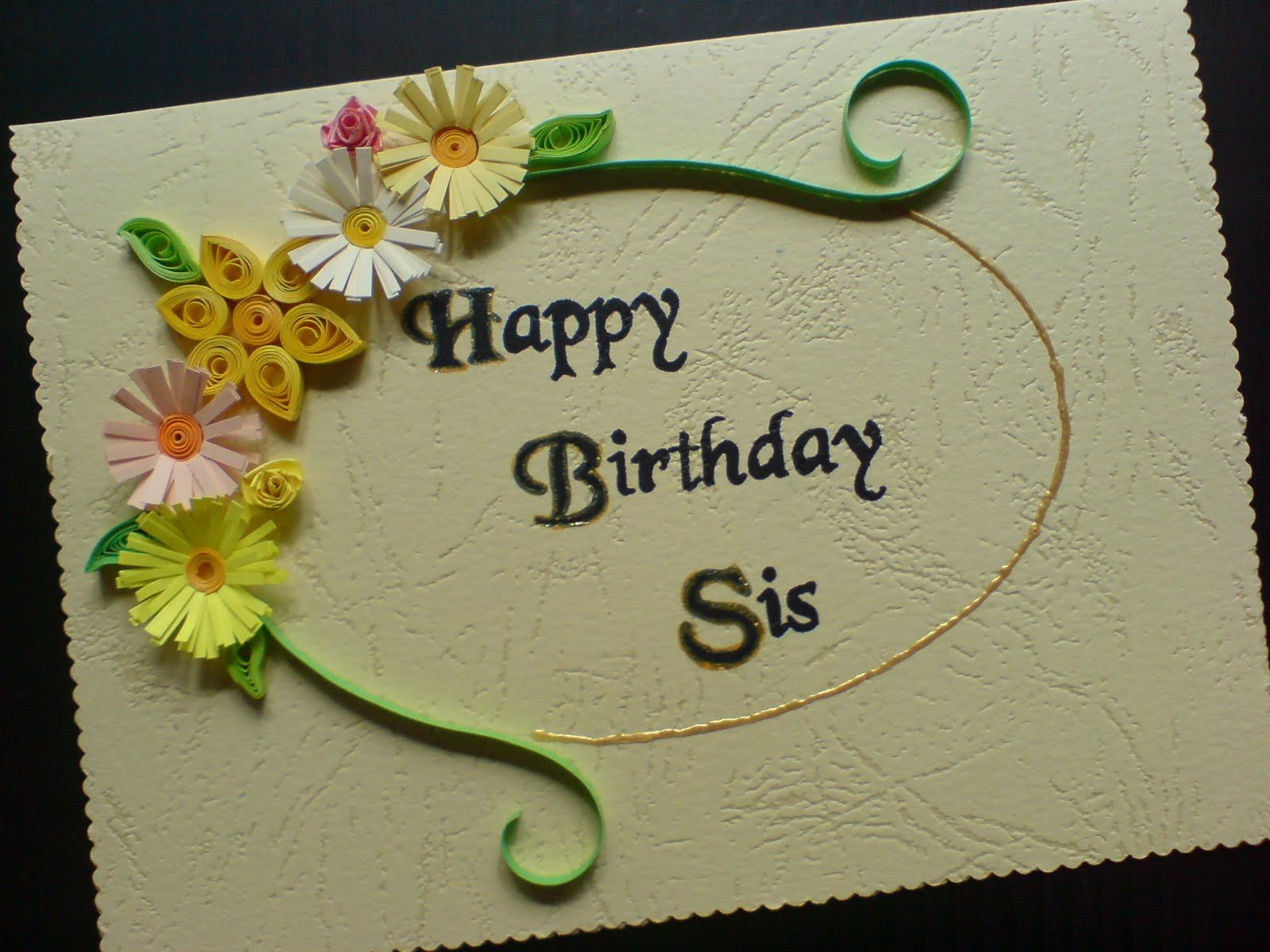 Happy Birthday Sis Wallpaper Happy Birthday Sister