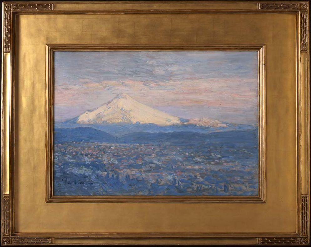Mount Hood Childe Hassam, 1908 Portland Art Museum