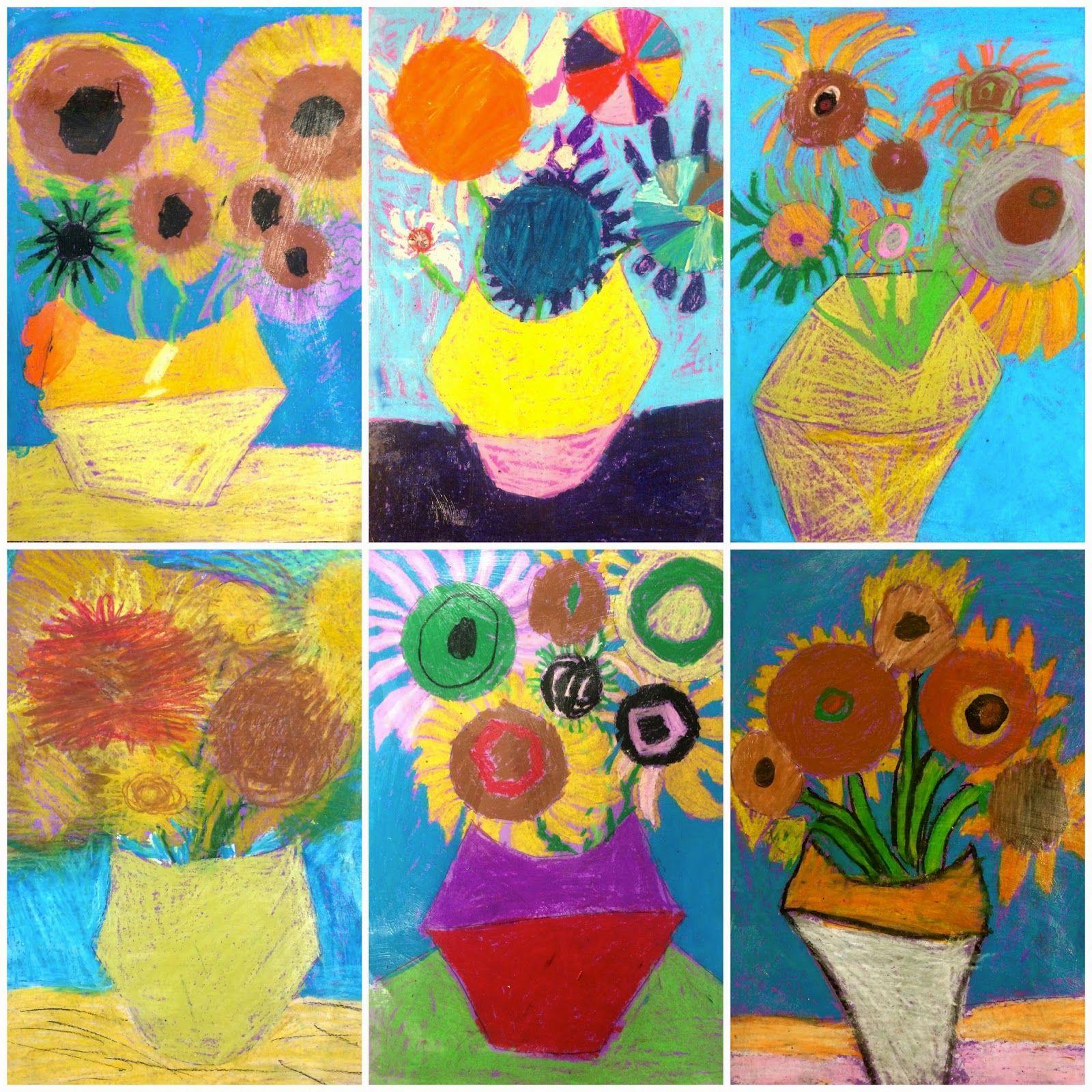 Exploring Art Elementary Art 2nd Grade Van Gogh