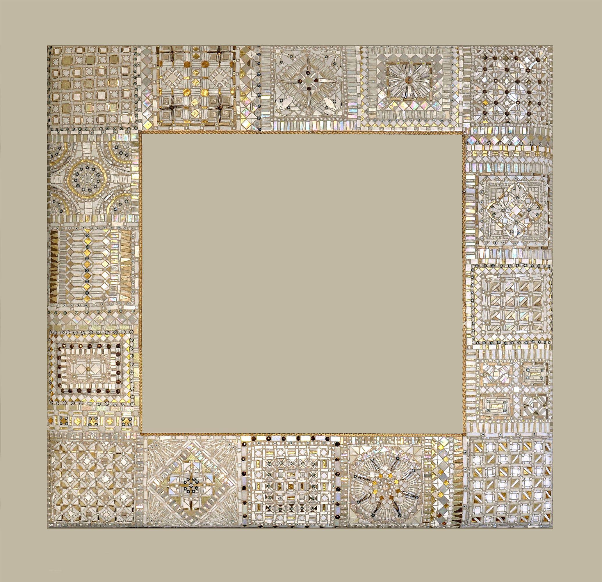 Il Mosaico E Gli Specchi.Specchi In Mosaico Di Dusciana Bravura Mosaique Mosaico A