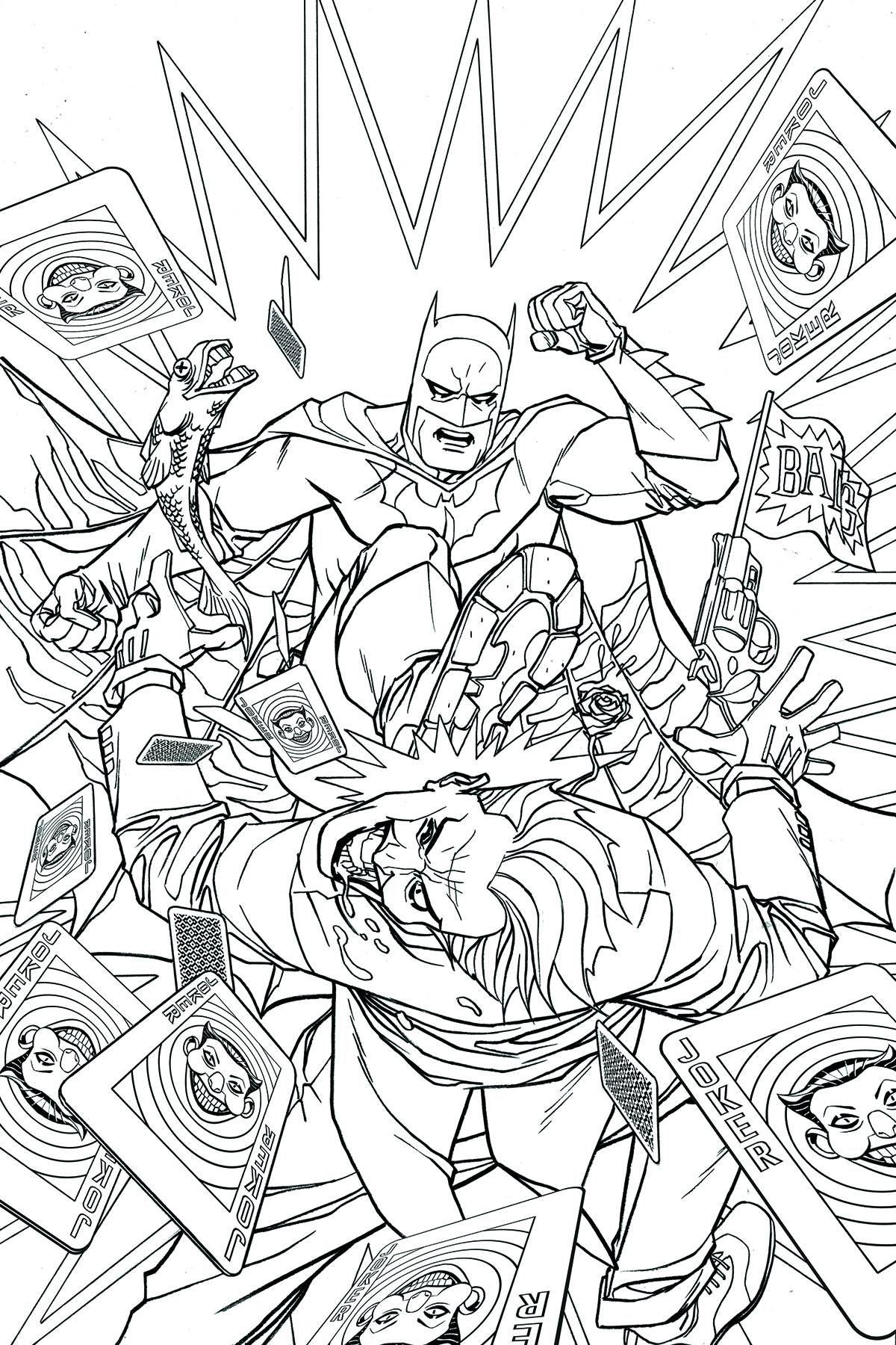 Batman #48 (Adult Coloring Book Variant Cover) Value | GoCollect.com ...