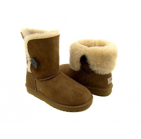 ugg bailey button boots womens chestnut 5803