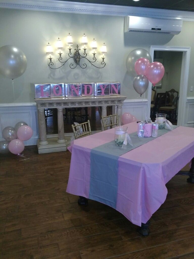 Pin By Chelsea Shaniece On Londyn 3 Baby Shower Purple Pink