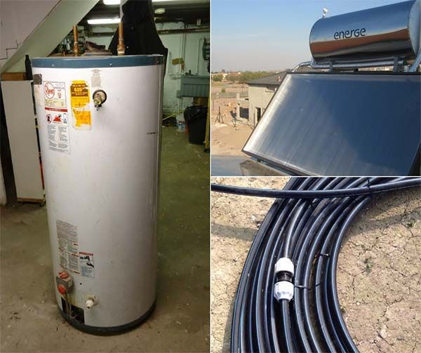 How To Convert An Electric Water Heater To Run Off Solar