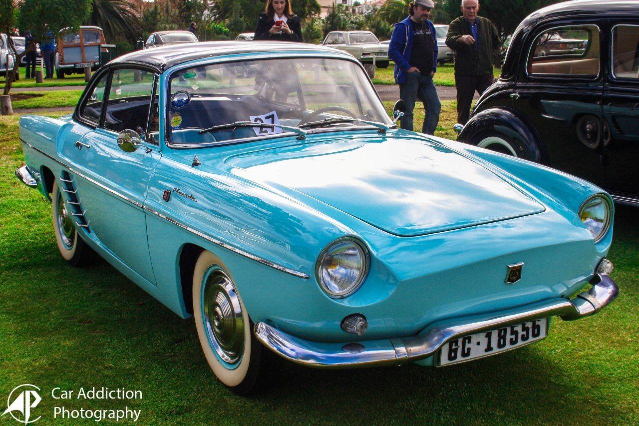 Photo de presse ancienne voiture automobile Renault Floride convertible 1961