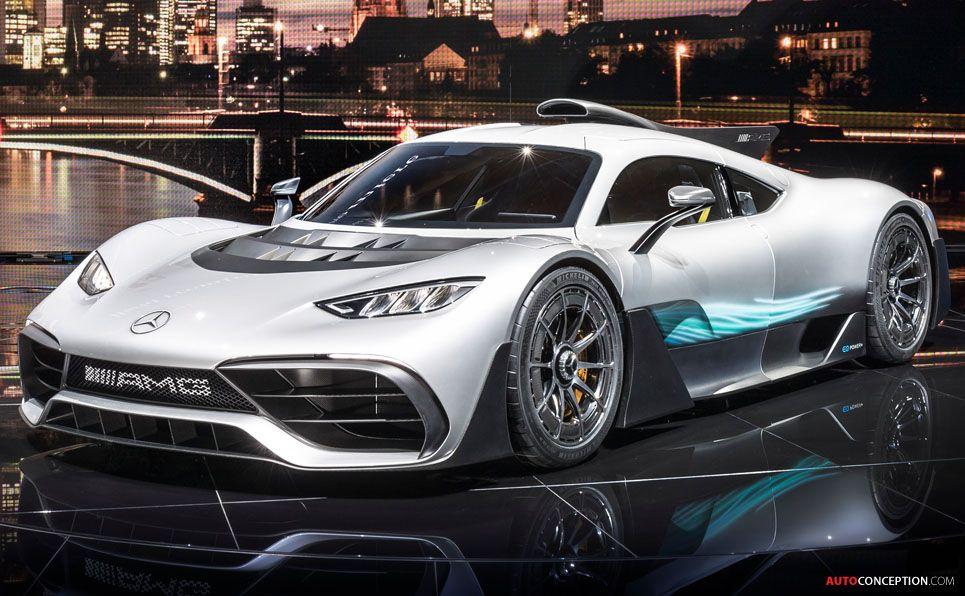 2017 MercedesAMG Project ONE show car Mercedes amg