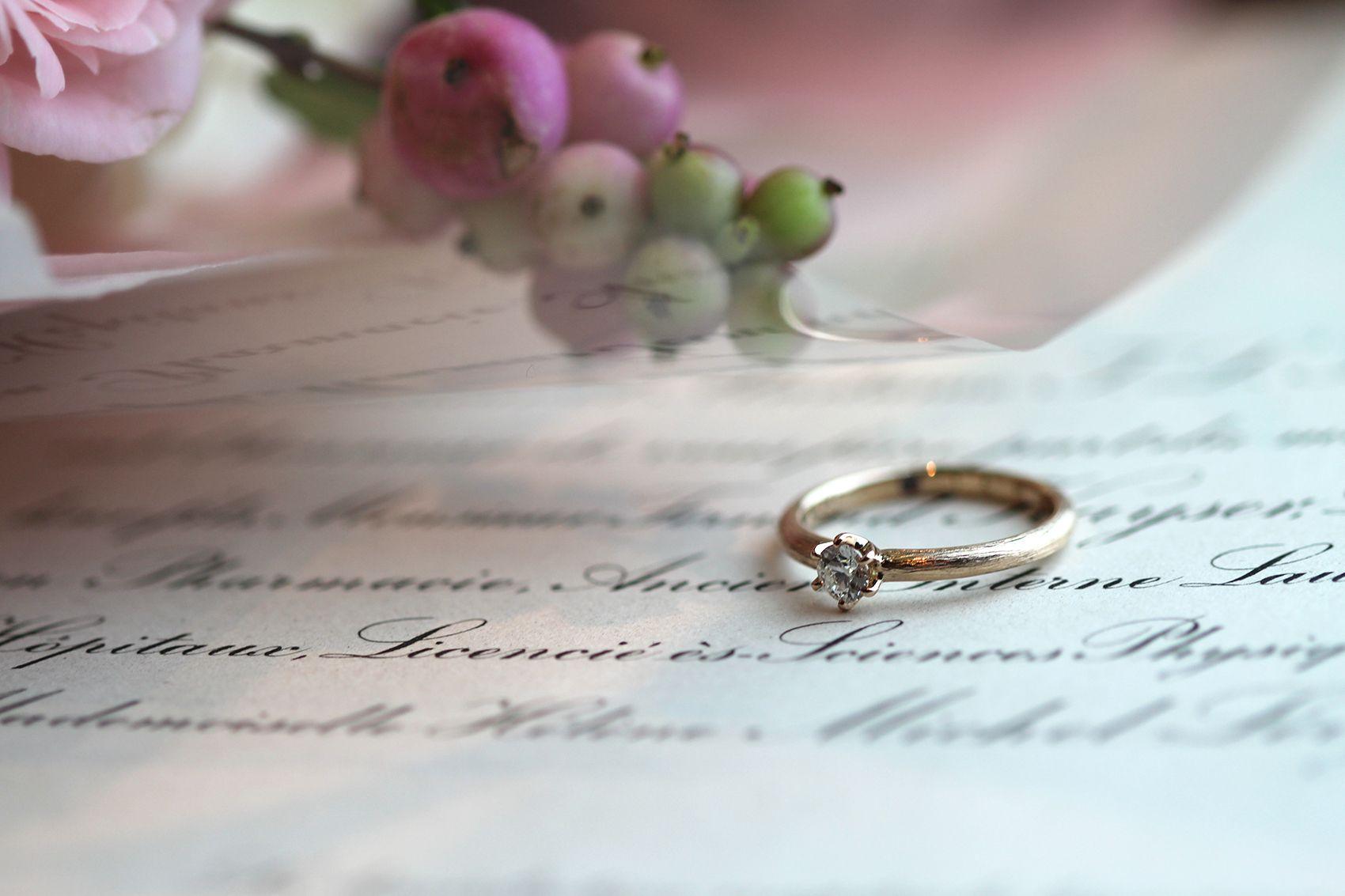 オーダメイド婚約指輪 Albero(アルベロ)