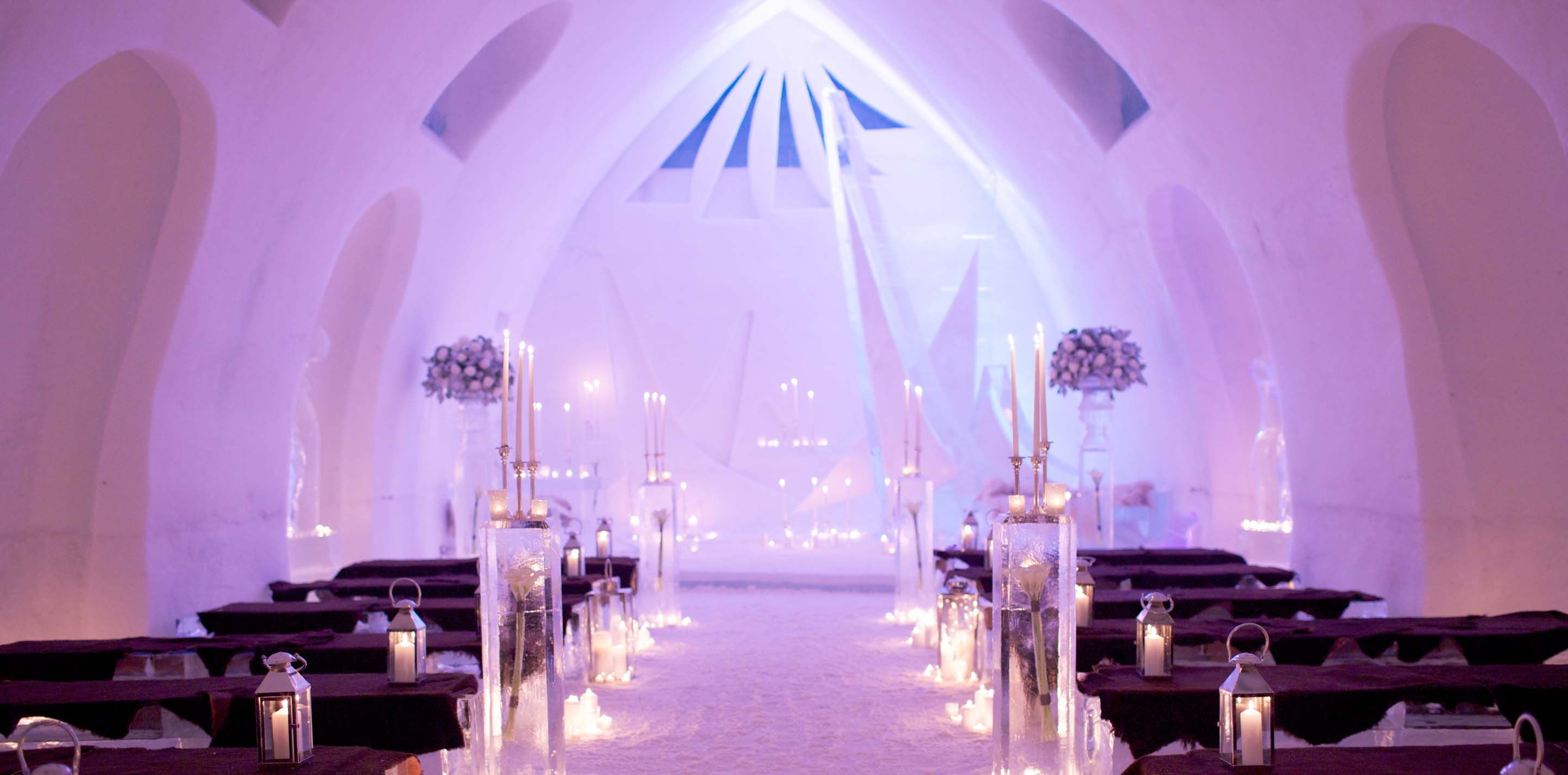With Its 44 Rooms And Theme Suites Chapel Grand Slide The Hôtel De Glace Will Transport You Into A Fascinating World Entirely Made Of Snow Ice