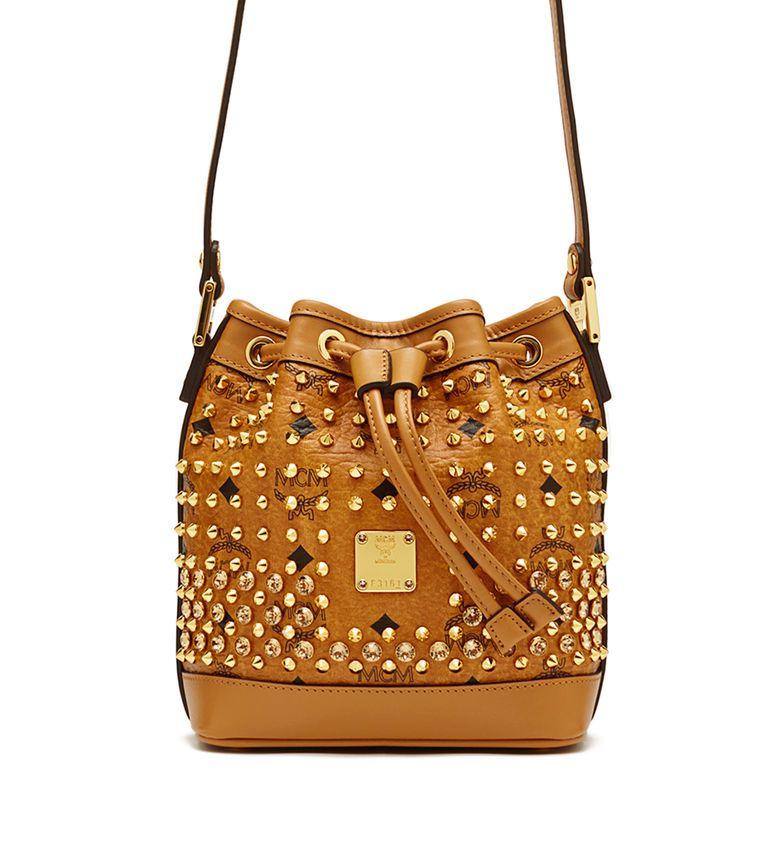 5078576ea DIAMOND DRAWSTRING - I need this MCM bucket bag in my life ...