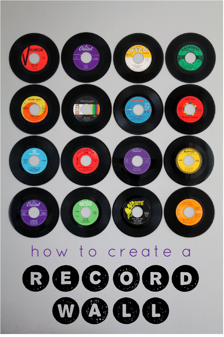 Wall Decoration Lp : Record wall art on vinyl records