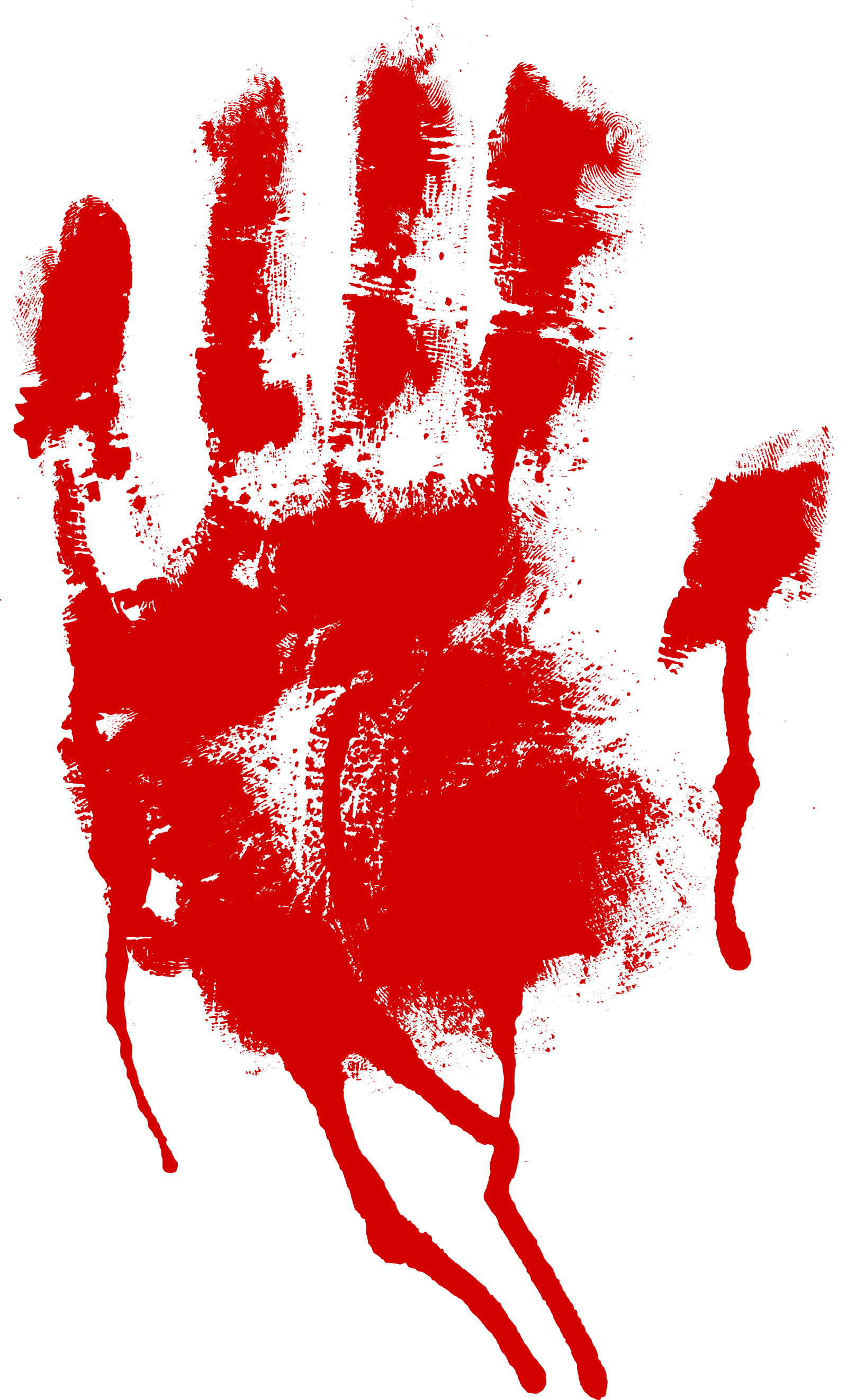 Bloody Handprint Png
