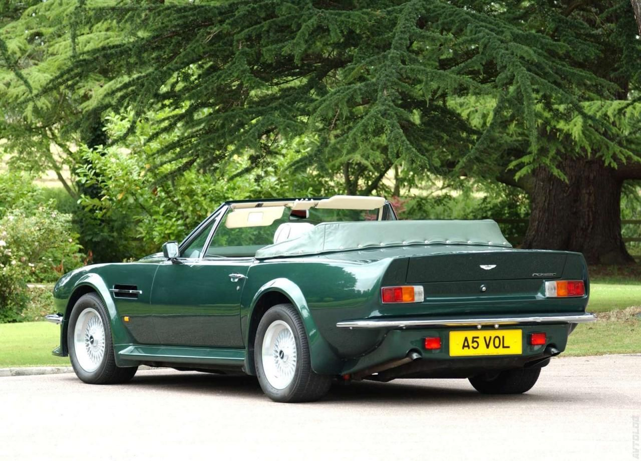 1986 Aston Martin V8 Vantage Volante Maintenance