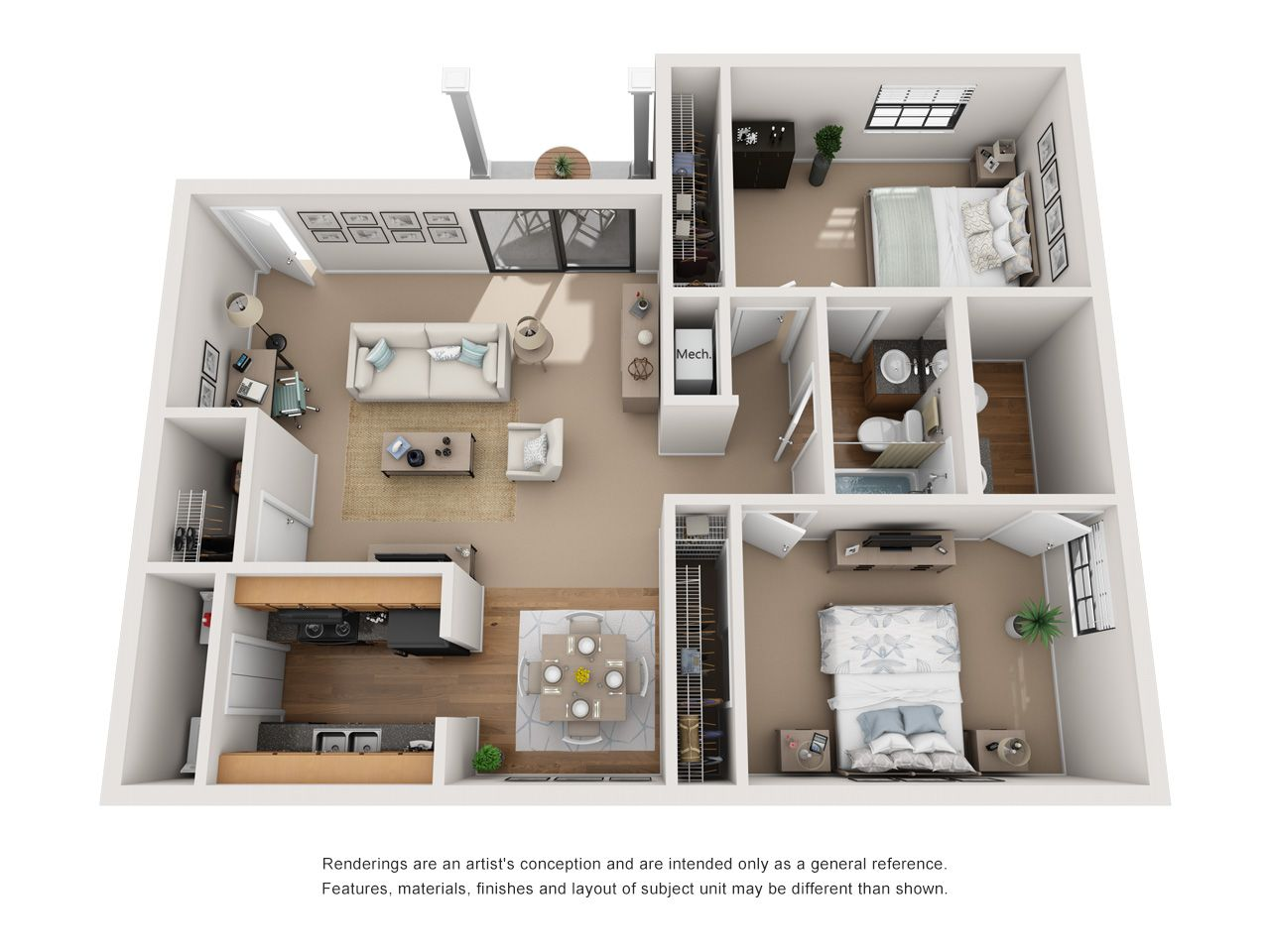 One And Two Bedroom Apartments In Indianapolis In Apartment Unique Floor Plans Two Bedroom Apartments