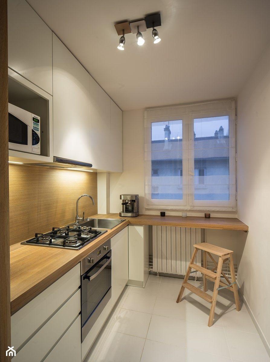 Kuchnia Lazienka Francja Mala Zamknieta Waska Biala Bezowa Brazowa Kuchnia W Ksztalcie Litery L Kitchen Counter Decor Stylish Kitchen Design Kitchen Design