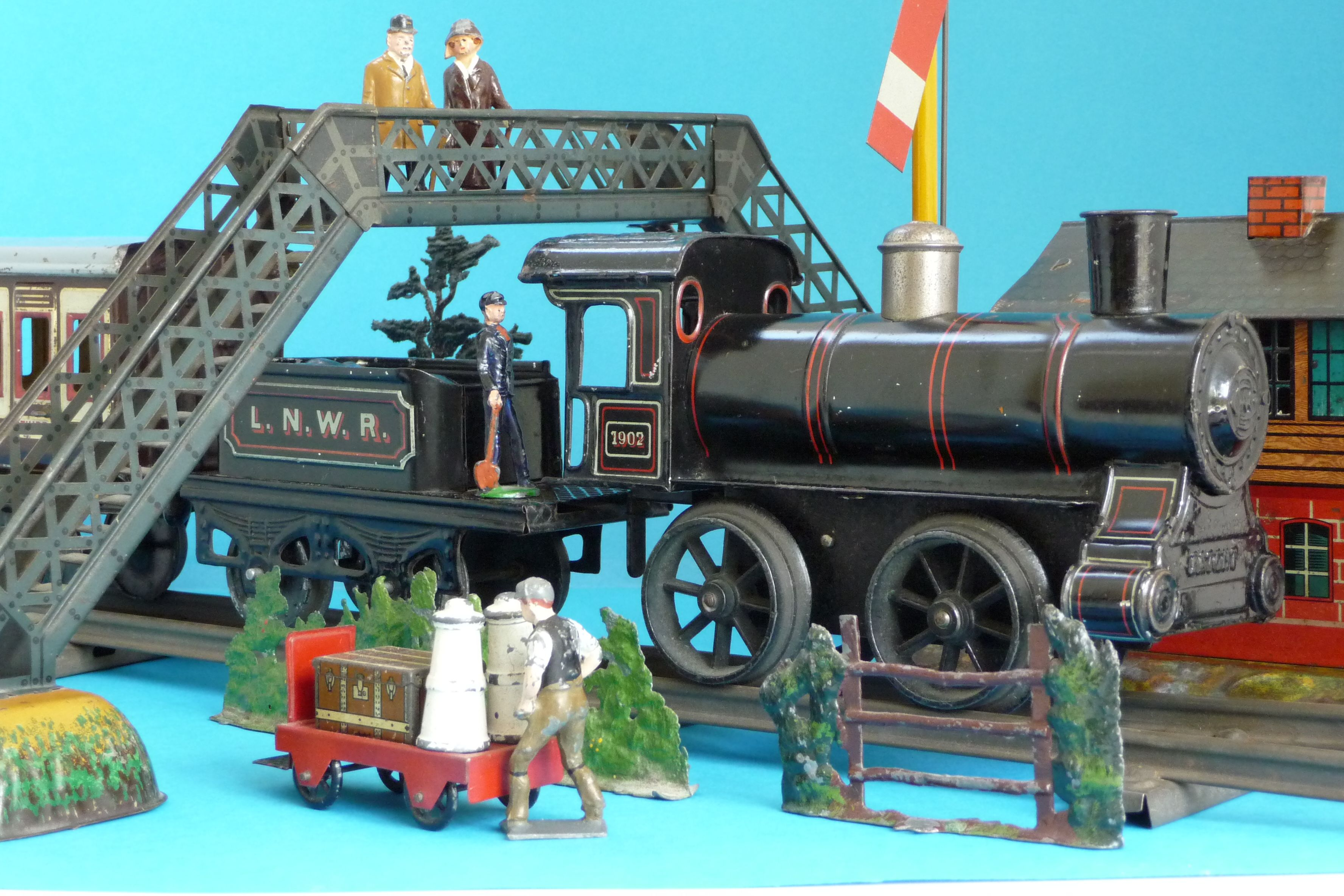 Have collectible toys and trains