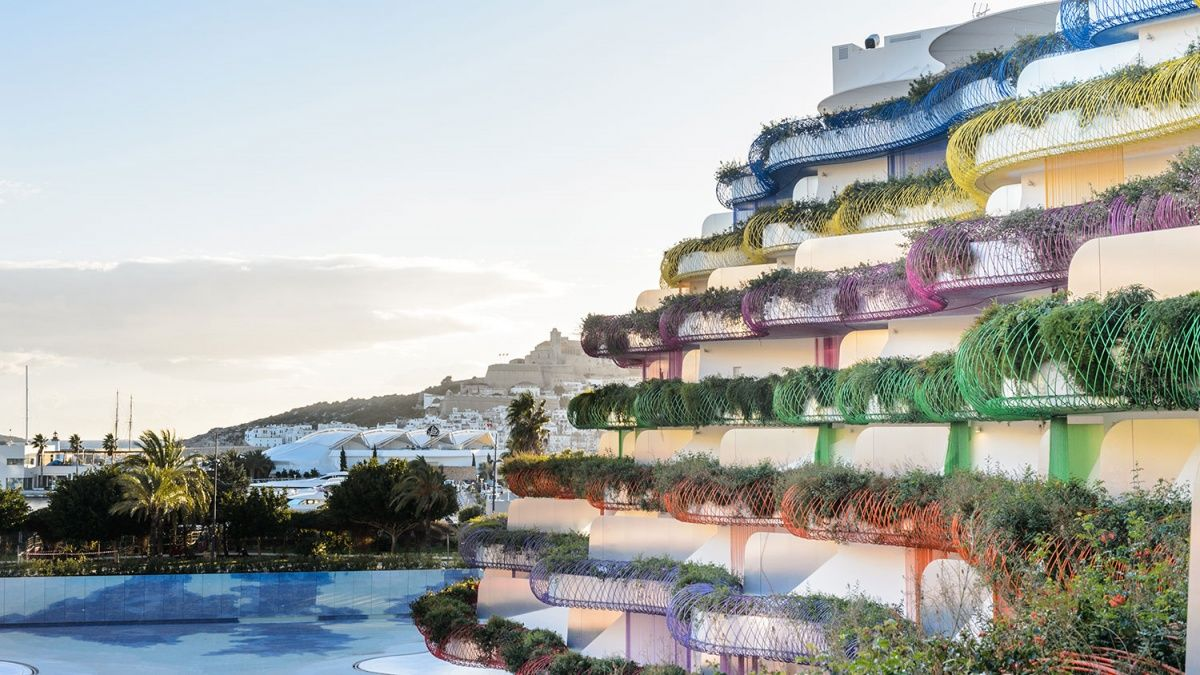Rbnb Ibiza An Apartment In Jean Nouvel S Life Marina Ibiza Is One Of Many