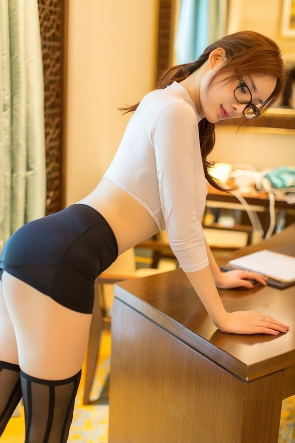 Office Secretary Hidden Camera