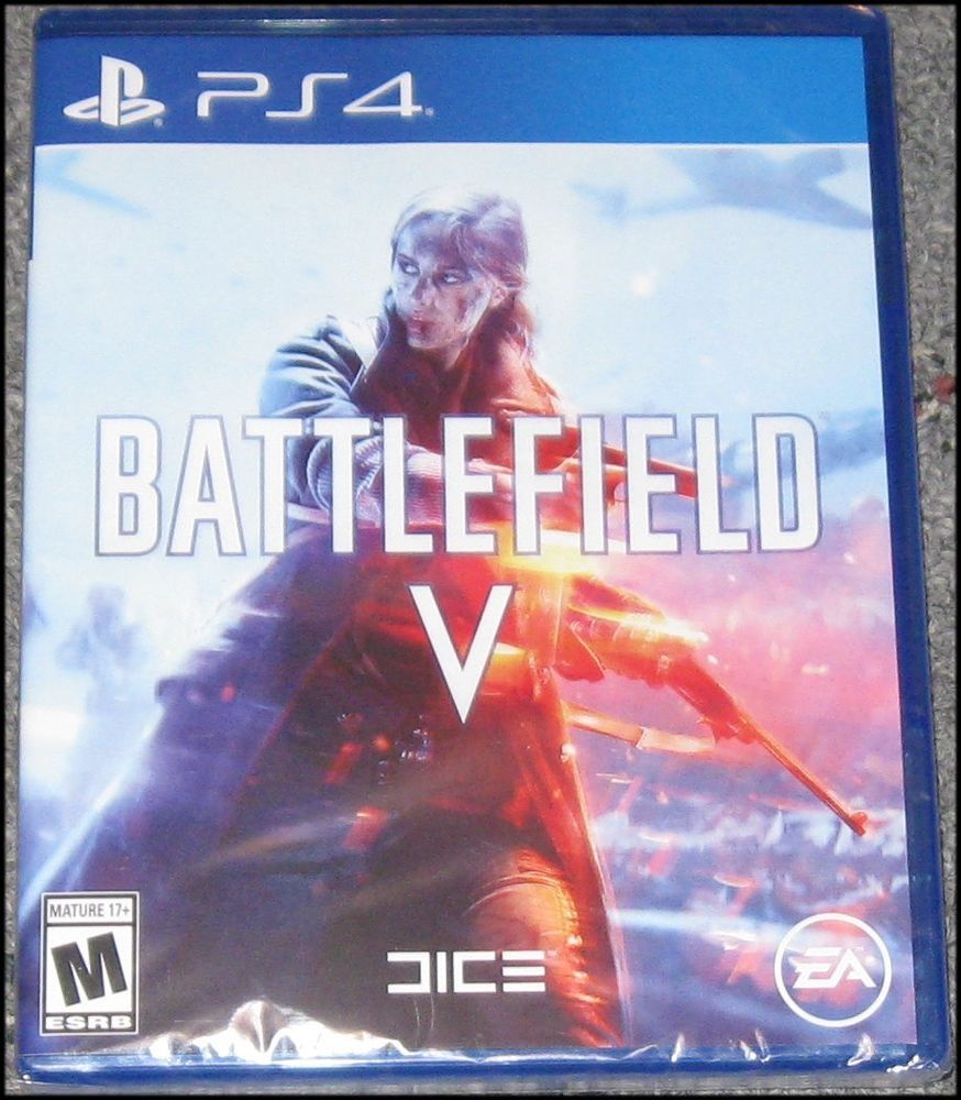 Battlefield V Sony Playstation 4 Ps4 Brand New And Sealed