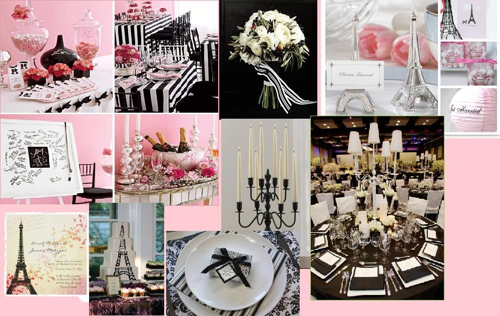 Paris Themed Wedding Weddings Pinterest Themed Weddings