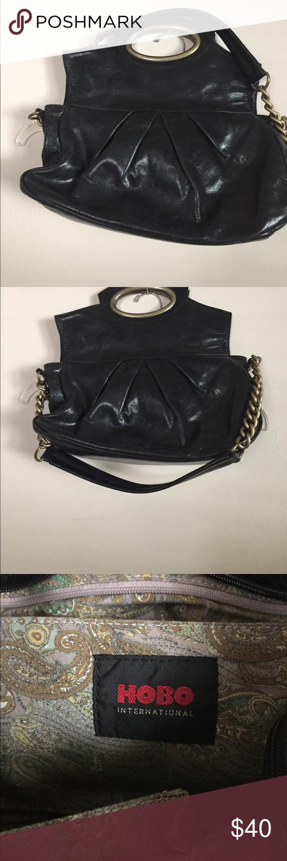 8c94d7303af Black hobo purse Love❤ ❤ ❤️this black over the shoulder bag!