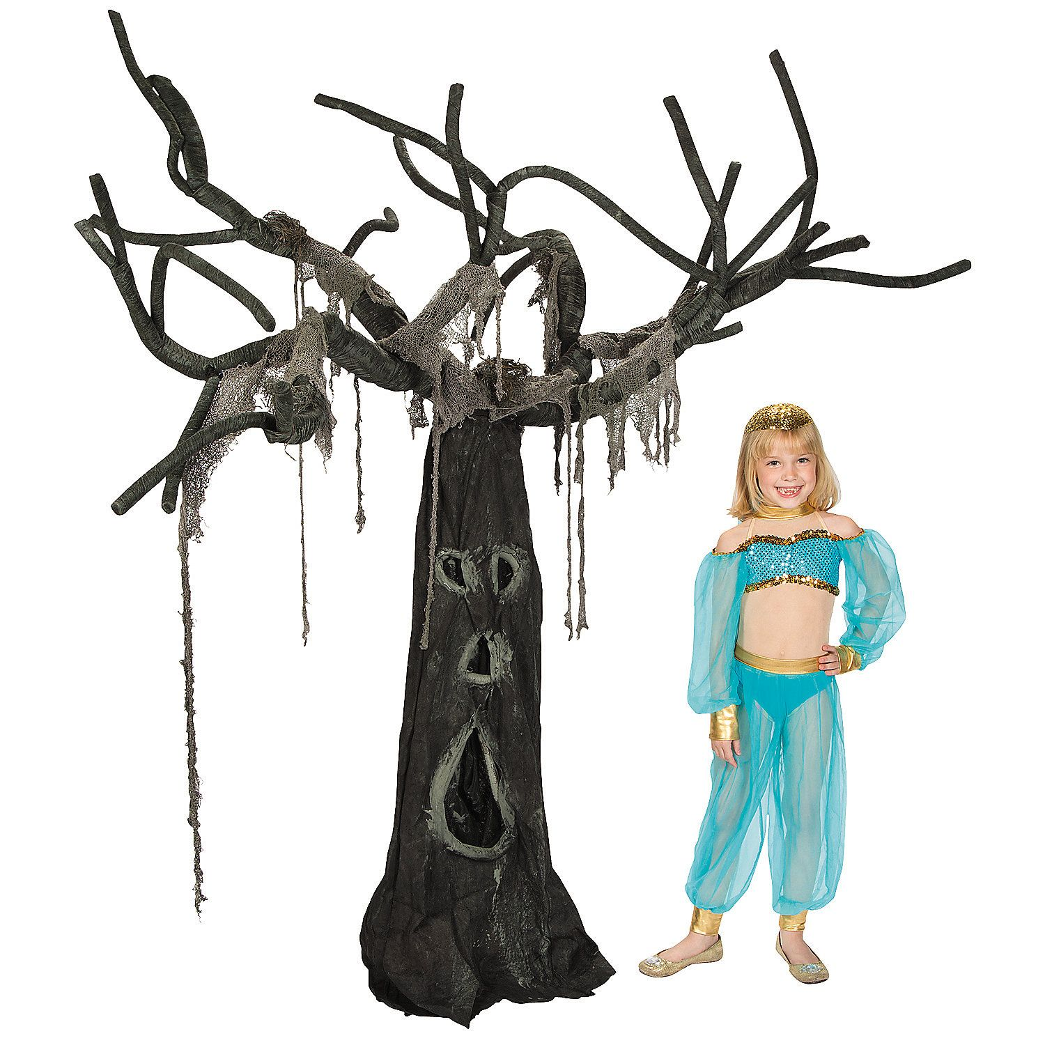 Creepy Willow Tree Willow tree, Halloween birthday parties and - Scary Halloween Yard Decorating Ideas