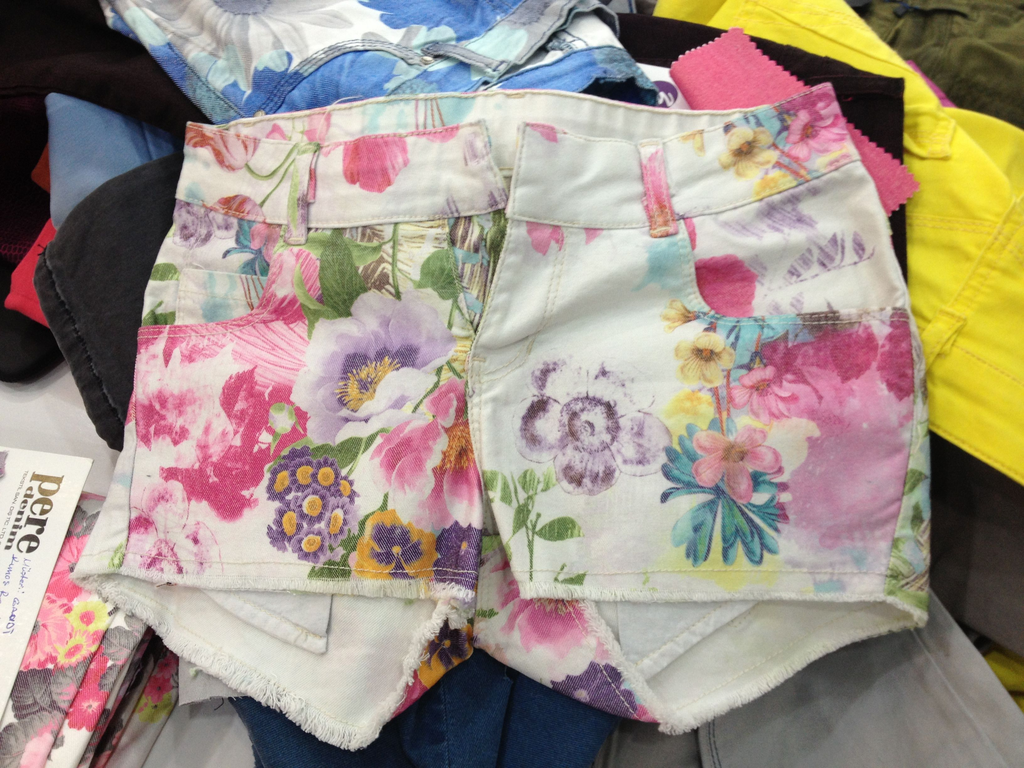 New summer fabric