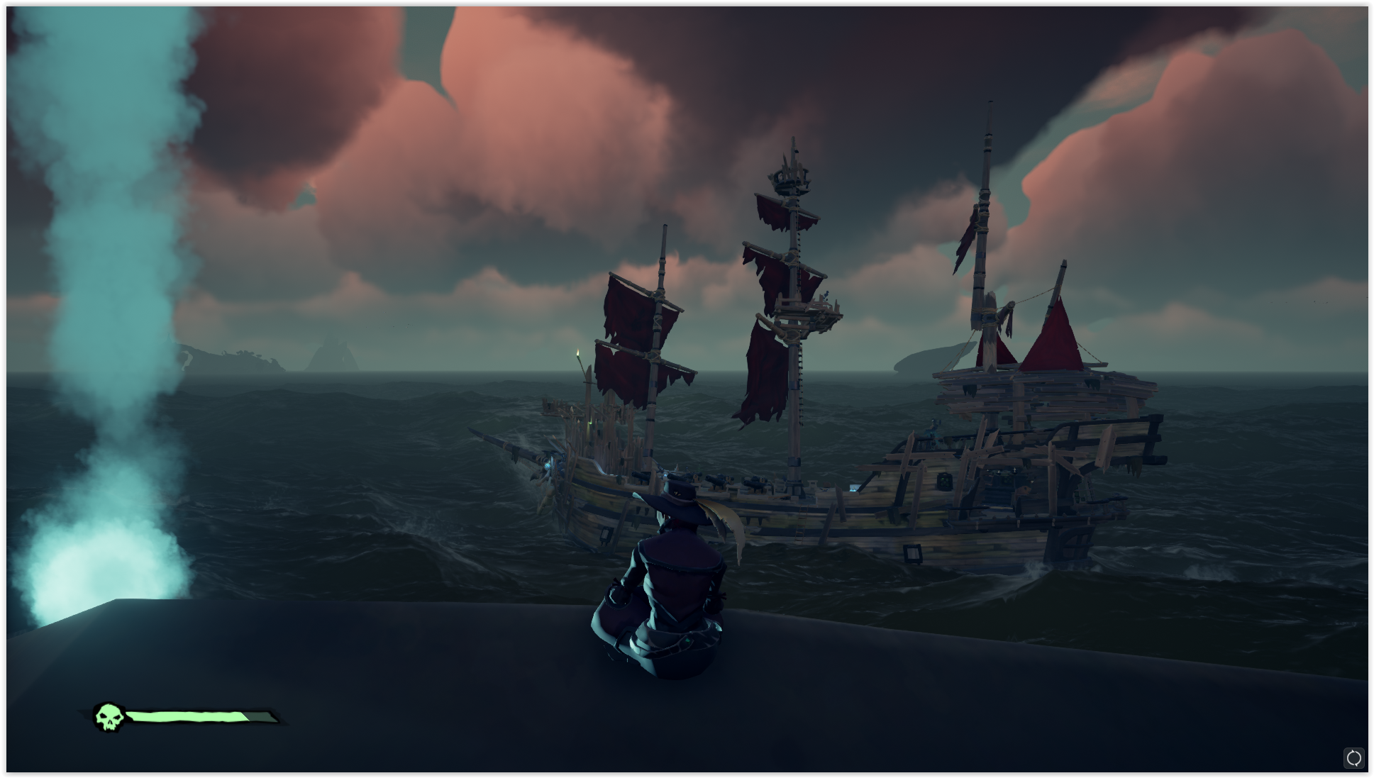 brown ship on shore illustration video games pirates Sea