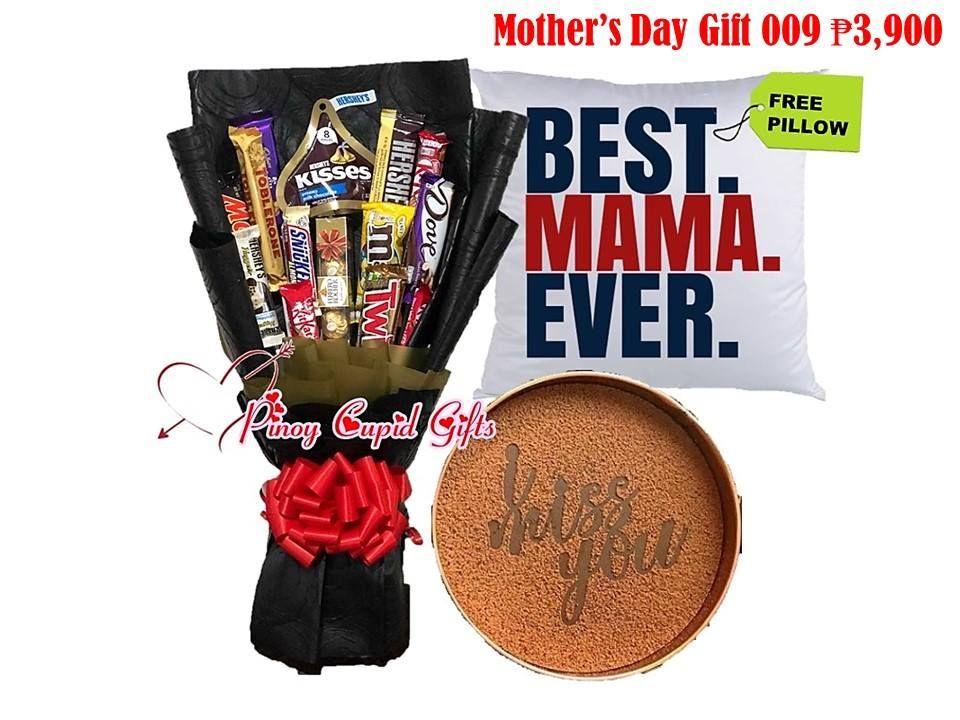 16pcs Mixed Chocolate Hand Bouquet 1 Hershey Kisses Pouch 1 Twix
