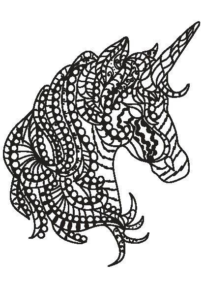 کتاب رنگ آمیزی بزرگسالان مجموعه تصاویر زیبای ماندالا اسب ...