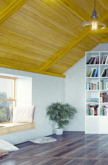 Holzdecke Streichen Holzdecke Streichen Holzdecke Decke
