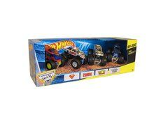 Hot Wheels Monster Jam Tour Favorites Package Includes The