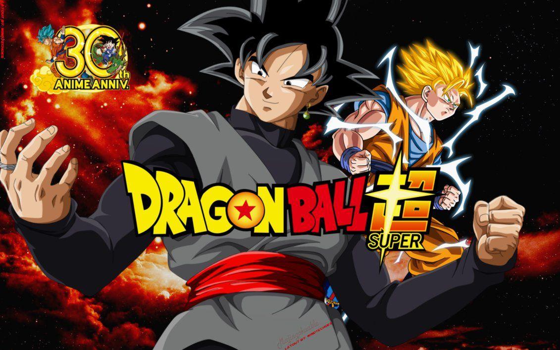 Goku Black Vs Son Goku Ssj2 Wallpaper By Windyechoes On