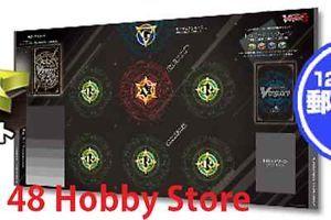 A979# Free Mat Bag Cardfight Vanguard Playmat Black Sage Charon Shadow Paladin