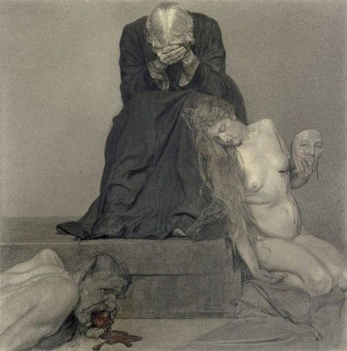 Sidonie Springer (1878-1935) - Schmerzliches Wiederfinden (1919-20)