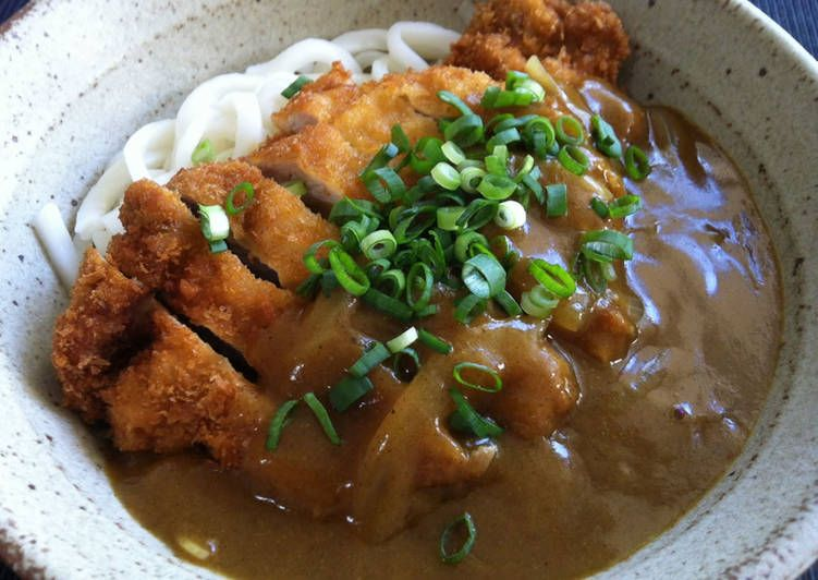 Katsu Curry Udon Recipe By Hiroko Liston Recipe Curry Udon Recipes Udon Recipe