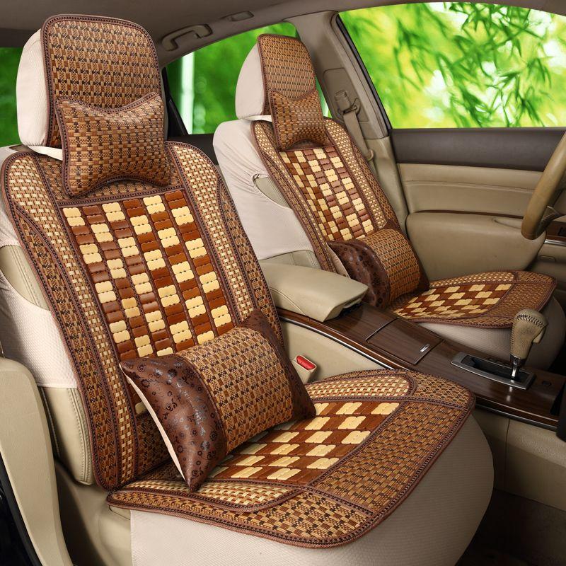 Car Seat Cushion Summer Bamboo Natural Bamboo Bamboo Filament Car