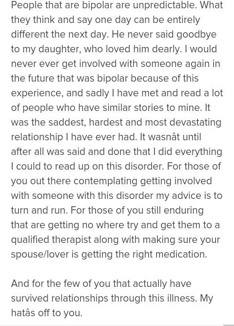 How to deal with dating a bipolar person
