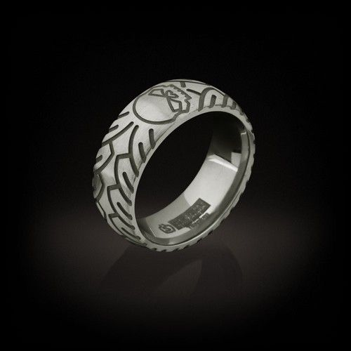 Love the treads on this ring httpwwwplanetharleycomHarley