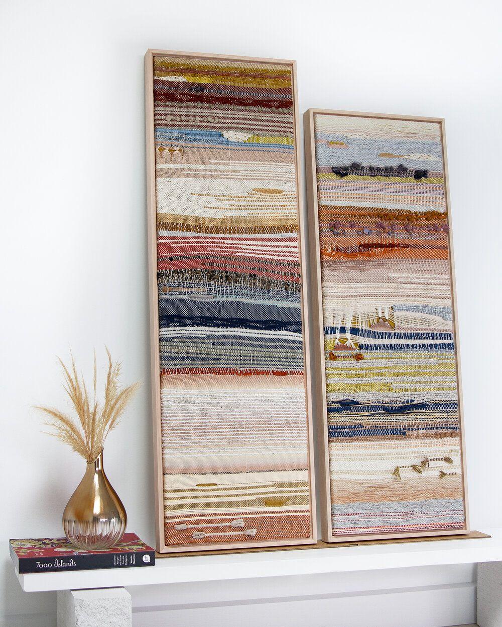 Gallery76, DUALITY exhibition, Sydney.  #handwoven #art #weavers #fiberart #weaving