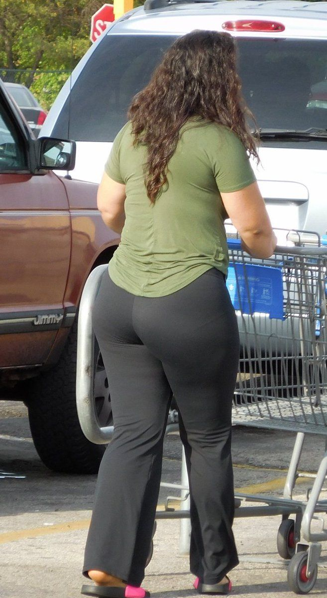 Thick booty meat deep vpl