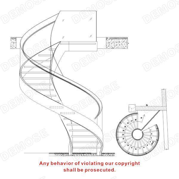 Best Prefabricated Steel Spiral Staircase Design View 400 x 300
