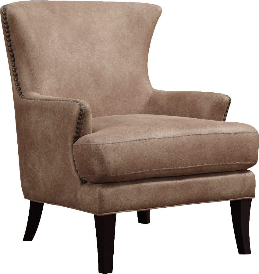 Morrison Arm Chair Brown Accent Chair Wingback Chair