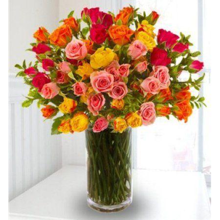 Starburst Splash Spray Rose Bouquet Flower Shop Near Me Spray Roses Bouquet Spray Roses Flower Delivery