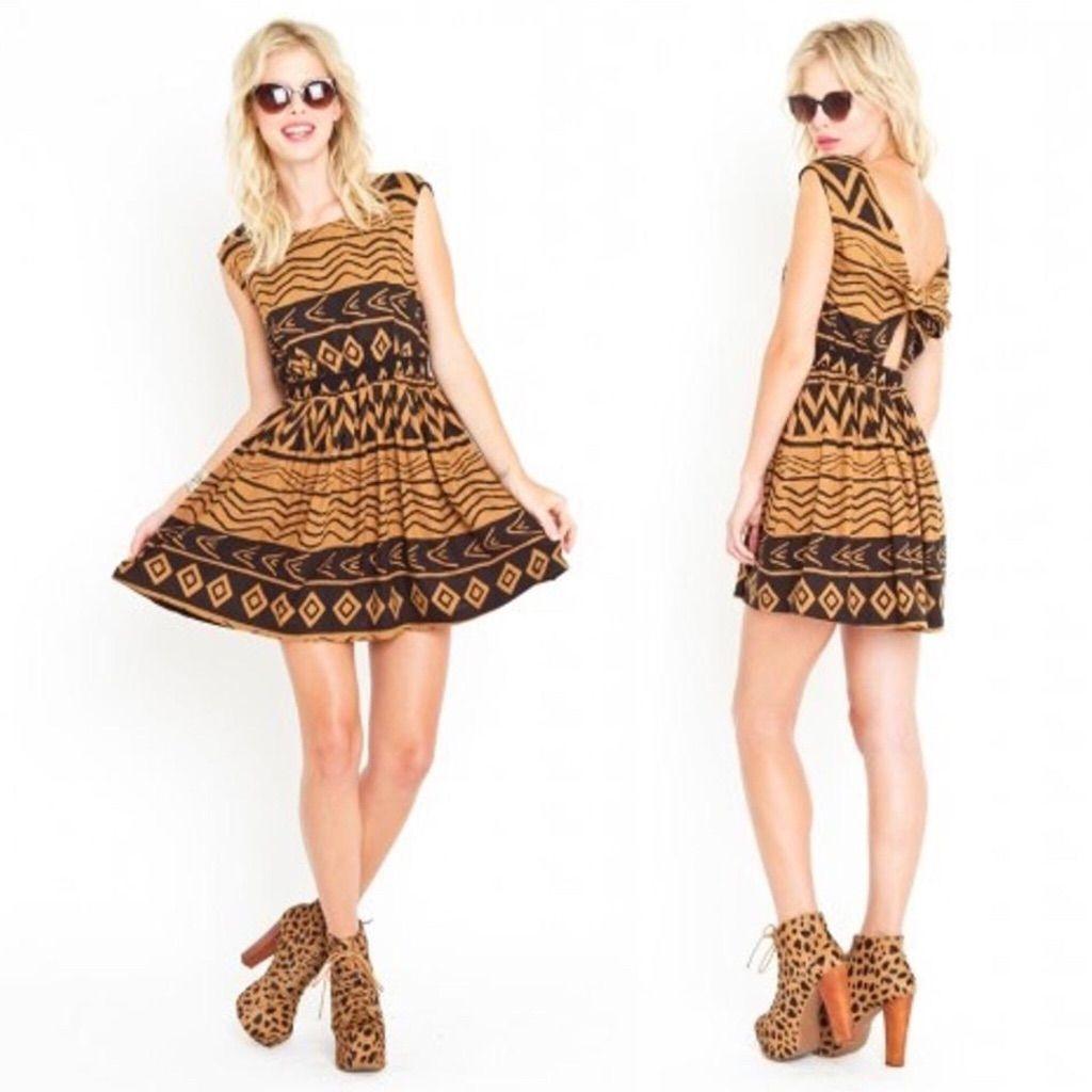 Summer Sale! Minkpink Tribal Dress