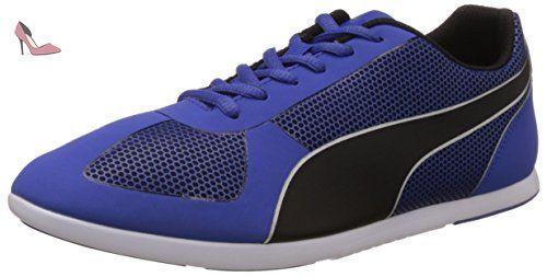 Smash - Sneakers Basses - Mixte Adulte - Noir (Black/Dark Shadow 04) - 44.5 EU (10 UK)Puma hThL9
